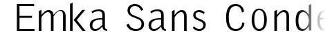 Emka Sans Condensed