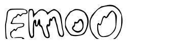 EmoO font