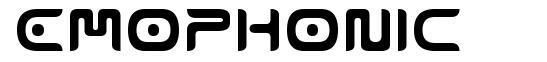 Emophonic font