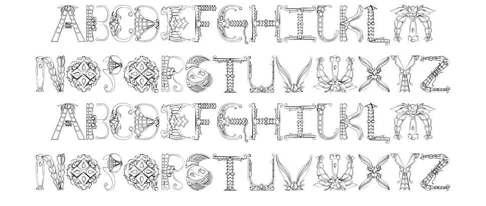 Empress font