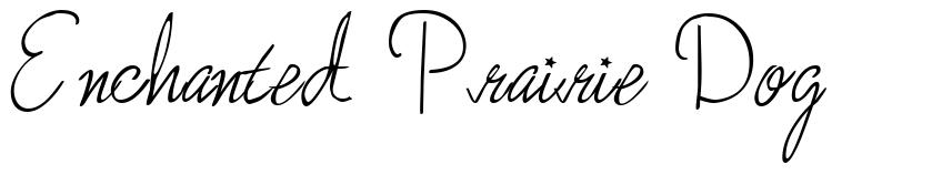 Enchanted Prairie Dog font