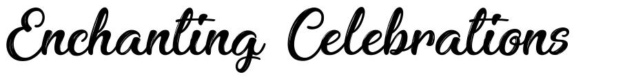 Enchanting Celebrations font