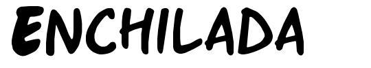 Enchilada font