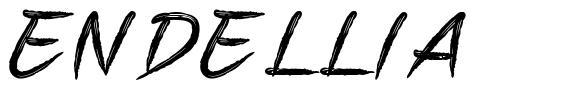 Endellia フォント
