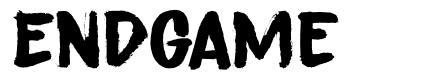 Endgame font