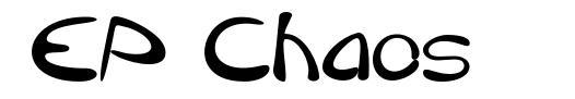 EP Chaos шрифт