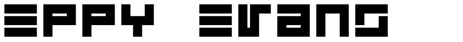 Eppy Evans font
