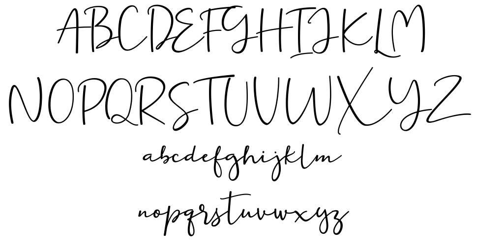 Ernita font