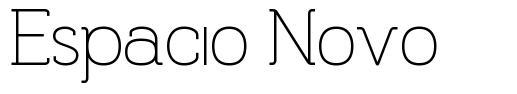 Espacio Novo font
