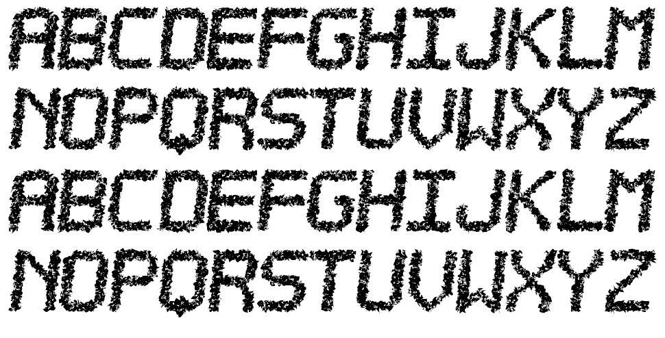Estorea TFB 字形