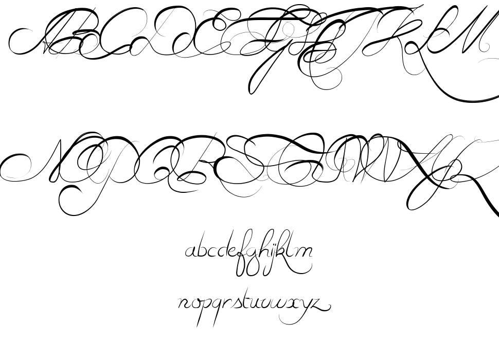 Estrela Fulguria 1748 font