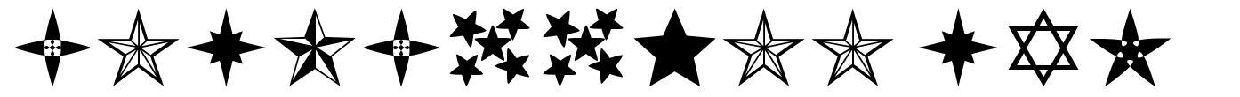 Estrellass TFB font