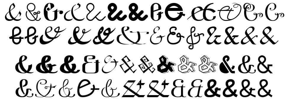 Etaday フォント