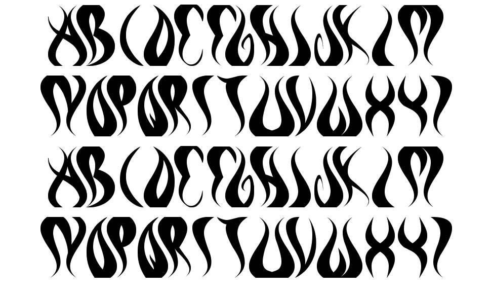 Eternal Flame font