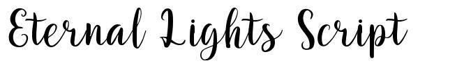 Eternal Lights Script fonte