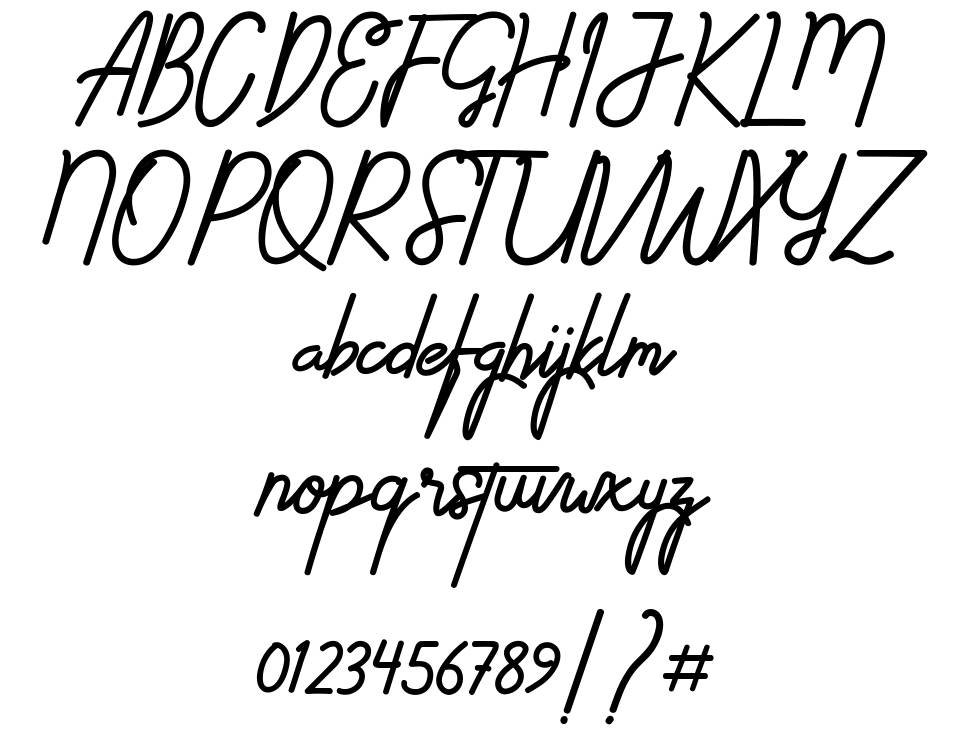 Ethons Styles font