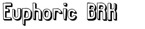 Euphoric BRK schriftart
