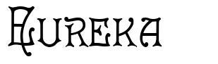 Eureka font