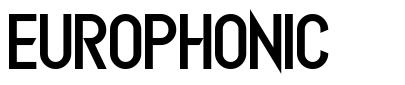 Europhonic fonte