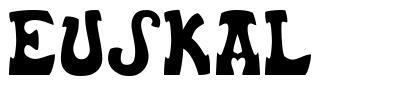 Euskal font