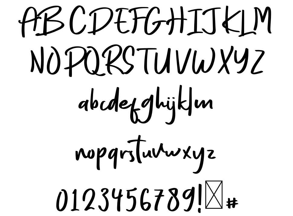 Every Style font