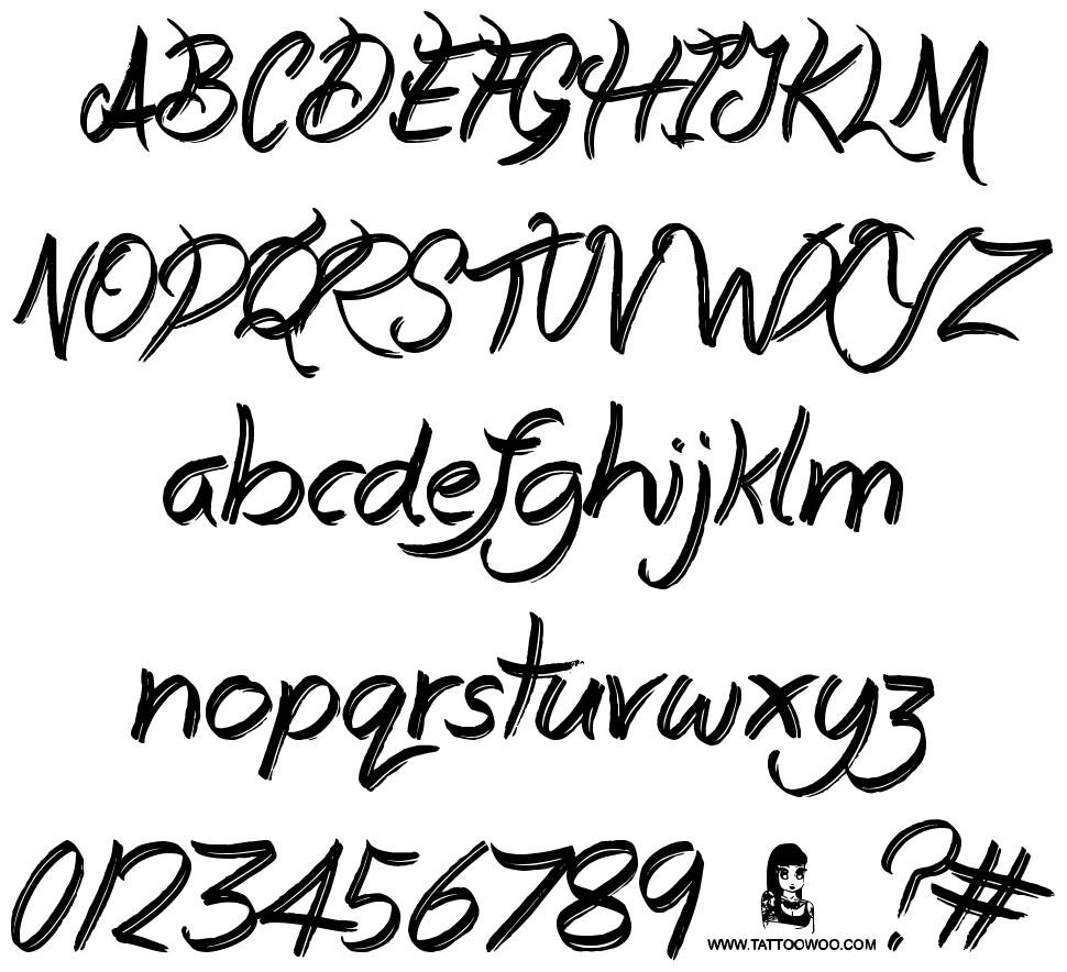 Everyday Mayhem font
