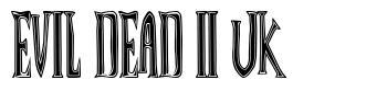 Evil Dead II UK