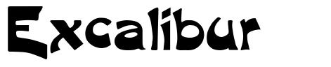 Excalibur font