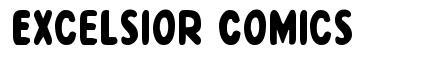 Excelsior Comics font