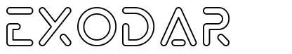 Exodar font
