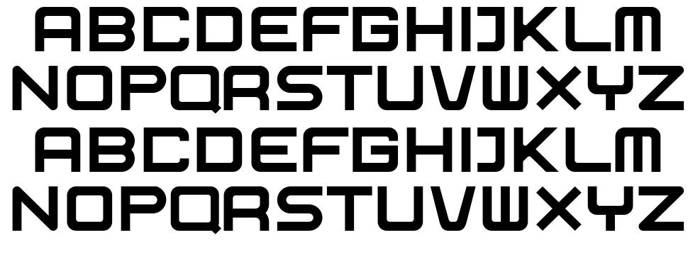 Exosphere font