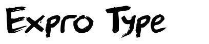 Expro Type font