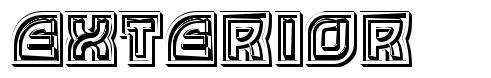 Exterior font