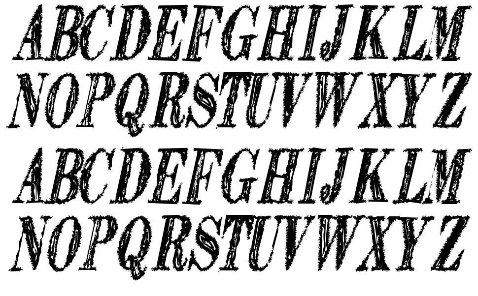 Extranger Sol TFB font