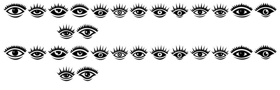 Eyez font
