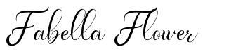Fabella Flower font