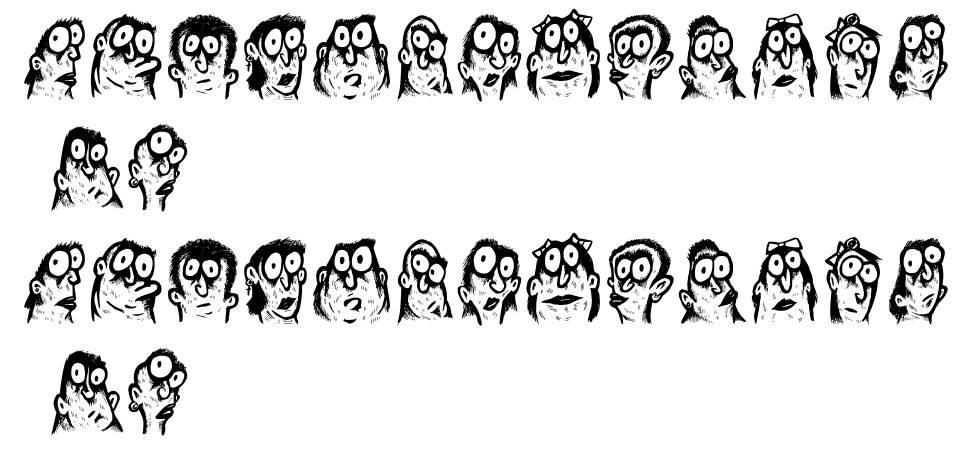 Faces font
