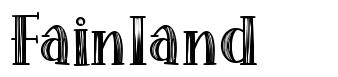 Fainland font