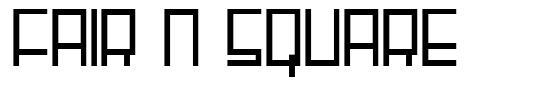 Fair N Square font