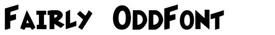 Fairly OddFont font