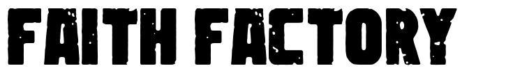 Faith Factory font