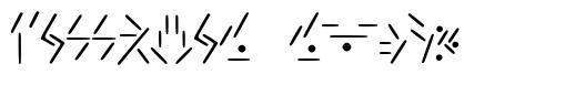Fallkhar Runes schriftart