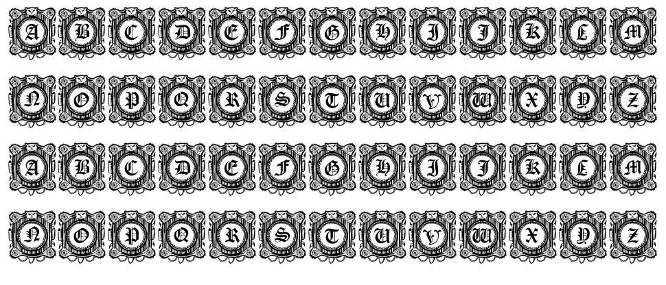 Fantasy Capitals font