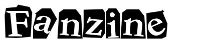Fanzine font