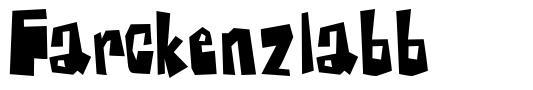 Farckenzlabb font