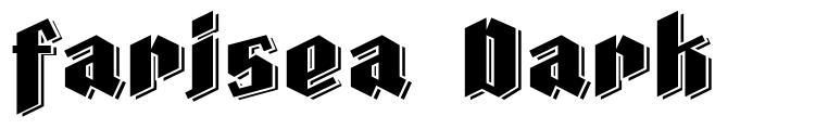 Farisea Dark font
