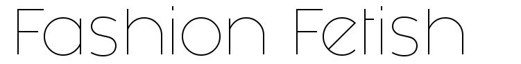 Fashion Fetish font