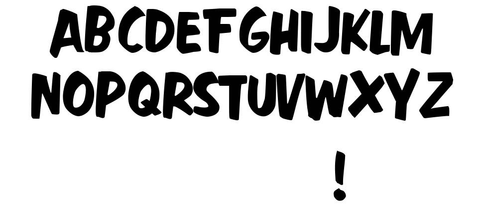 Fast Action font