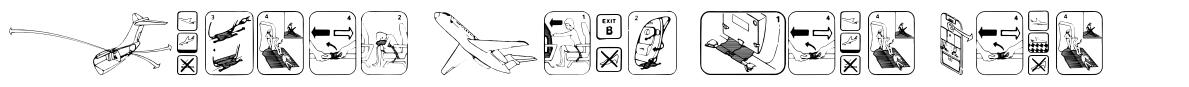 Fasten Your Seat Belt font