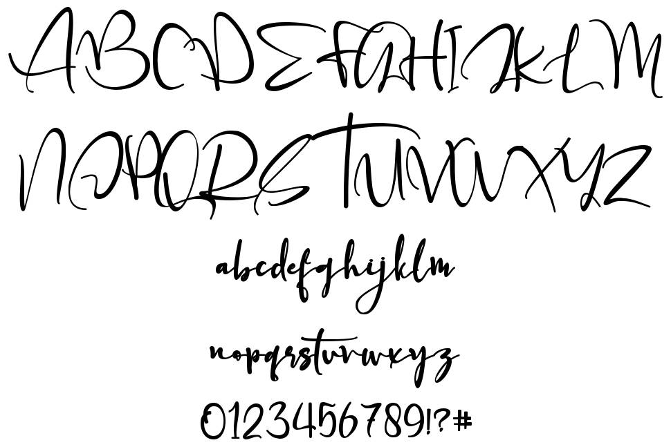 Father Christmas font